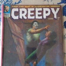 """Cómics: RICHARD CORBEN """"CREEPY"""" NÚM.43 (WARREN). Lote 231467325"""