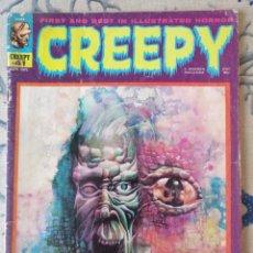 """Cómics: RICHARD CORBEN """"CREEPY"""" NÚM.41 (WARREN). Lote 231474105"""