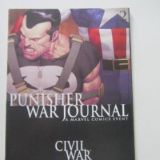 Cómics: THE PUNISHER WAR JOURNAL. Nº 2 CIVIL WAR MARVEL ORIGINAL USA INGLES ARX37. Lote 260827730