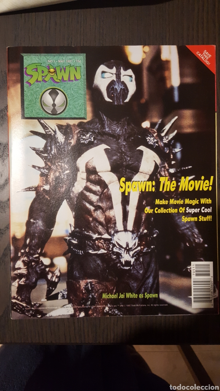 Cómics: Catalogo - Batman y Robin Merchandise catalog - Flip book - Spawn catalogue - 1997 - Foto 2 - 232373560