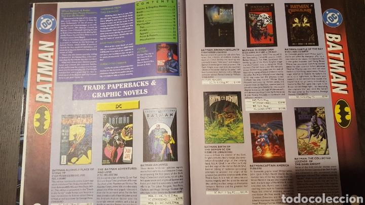 Cómics: Catalogo - Batman y Robin Merchandise catalog - Flip book - Spawn catalogue - 1997 - Foto 5 - 232373560