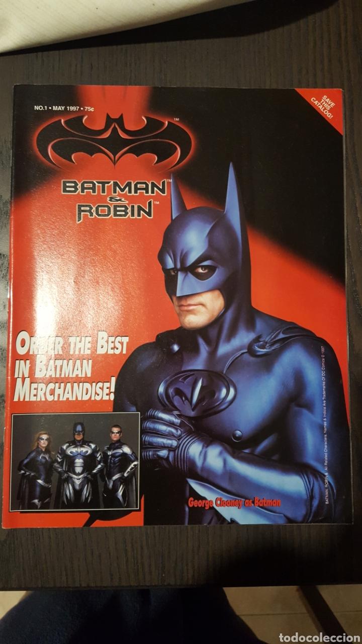 CATALOGO - BATMAN Y ROBIN MERCHANDISE CATALOG - FLIP BOOK - SPAWN CATALOGUE - 1997 (Tebeos y Comics - Comics Lengua Extranjera - Comics USA)