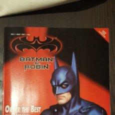 Cómics: CATALOGO - BATMAN Y ROBIN MERCHANDISE CATALOG - FLIP BOOK - SPAWN CATALOGUE - 1997. Lote 232373560