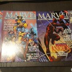 Cómics: LOTE CATALOGOS MARVEL COMICS CATALOG 1 AL 4 - 1998 SPIDER-MAN, X-MEN, DAREDEVIL, PACHECO, BYRNE. Lote 233547910