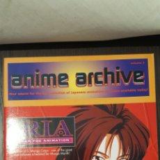 Cómics: CATALOGO - ANIME ARCHIVE / MEGA MANGA CATALOG - VOLUME 3 - 1996 - IRIA, RANMA, STREET FIGHTER. Lote 233669890
