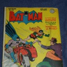 Cómics: (M1) BATMAN N.34 APRIL MAY 1946, DC, ORIGINAL, CON ROTURAS, VER FOTOGRAFIAS ADICIONALES. Lote 234296540
