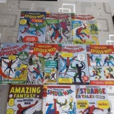 Cómics: THE AMAZING SPIDERMAN 10 COMICS AÑO 1999 ALEMAN CONTIENE POSTER CENTRAL. Lote 234624640
