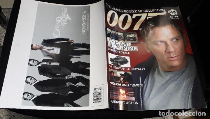 Cómics: FASCICULO COLECCIONABLE james bond car collection 007 49 daimler limousine con poster - Foto 3 - 234915380