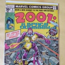 Comics : COMIC USA-MARVEL 2001 A SPACE ODYSSEY #8-JACKKIRBY-E 1ST APPEARANCE MACHINE MAN-FN-BOLSA Y BACKBOARD. Lote 235446330