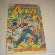 Cómics: THE AVENGERS . MARVEL COMICS N. 183. 1979.. Lote 235849420