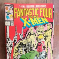 Cómics: FANTASTIC FOUR VS X-MEN. VOL 1. Nº 4. JUNE 1987. USA. Lote 236125975