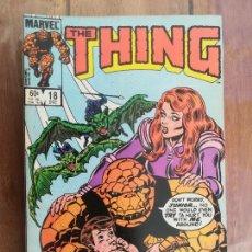 Cómics: THE THING. VOL 1. Nº 18. DEC. 1984. USA. Lote 236126465