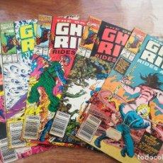 Cómics: THE ORIGINAL GHOST RIDER. RIDES AGAIN! Nº 1 AL 5 ( DE 7). USA. Lote 236127985