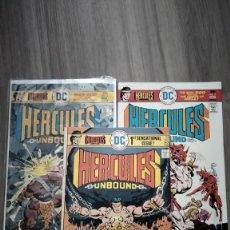 Cómics: DC. HERCULES UNBOUND 1 AL 3. GERRY CONWAY, JOSE LUIS GARCIA LOPEZ Y WALLY WOOD. Lote 236229940