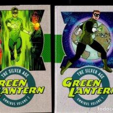 Cómics: GREEN LANTERN : THE SILVER AGE OMNIBUS 1 & 2 - INCLUYE SHOWCASE 22-24 Y GREEN LANTERN 1-75. Lote 236407885