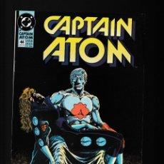 Cómics: CAPTAIN ATOM 44 - DC 1990 FN+. Lote 236420305