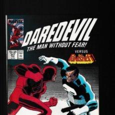 Cómics: DAREDEVIL 257 - MARVEL 1988 VFN- / VS PUNISHER / ROMITA JR. Lote 236422735