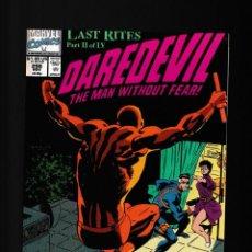 Cómics: DAREDEVIL 298 - MARVEL 1991 VFN / CHICHESTER & WEEKS / NICK FURY. Lote 236423165