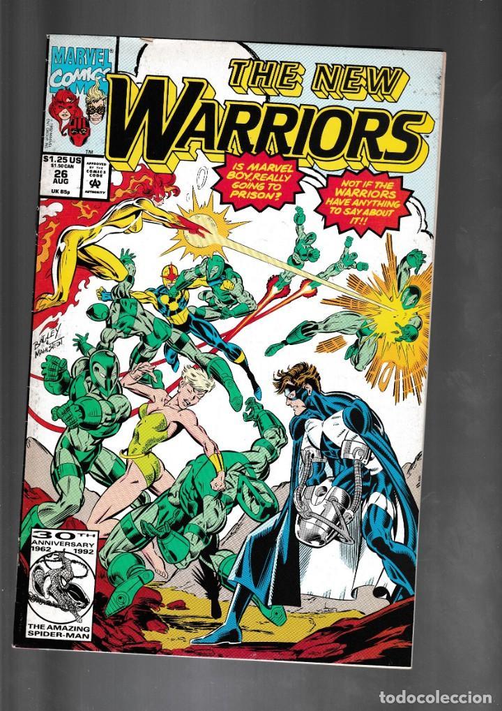 NEW WARRIORS 26 - MARVEL 1992 VG (Tebeos y Comics - Comics Lengua Extranjera - Comics USA)