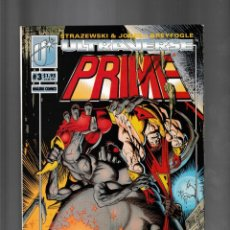 Cómics: PRIME 3 - MALIBU 1993 VFN/NM. Lote 236694390