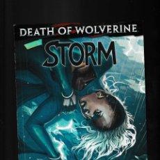 Cómics: STORM 4 - MARVEL 2014 VFN+ / DEATH OF WOLVERINE. Lote 238024050