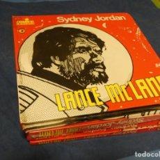 Cómics: LIBRO COMIC ITALIANO TAPA DURA SYDNEY JORDAN LANCE MC LANE 1978 SIN CIRCULAR. Lote 238122340