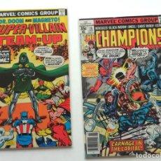 Cómics: CROSSOVER CHAMPIONS CON SUPER VILLAIN TEAM-UP, CON DOCTOR DOOM Y MAGNETO!. Lote 239353740