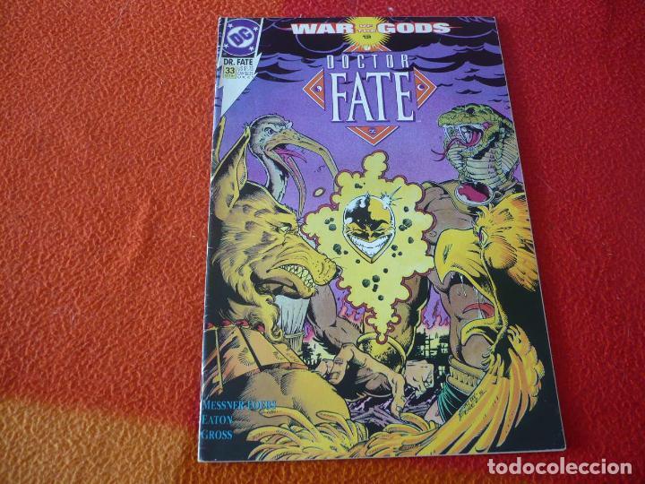 DR. FATE Nº 33 ( MESSNER-LOEB ) ( EN INGLES ) ¡BUEN ESTADO! DC DOCTOR (Tebeos y Comics - Comics Lengua Extranjera - Comics USA)