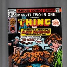 Fumetti: MARVEL TWO IN ONE 37 VFN/NM 1978 / THING & MATT MURDOCK / MARV WOLFMAN & RON WILSON. Lote 239941210