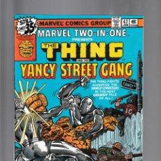 Fumetti: MARVEL TWO IN ONE 47 VFN/NM 1979 / THING & YANCY STREET GANG / BILL MANTLO & CHIC STONE. Lote 239943335