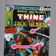 Fumetti: MARVEL TWO IN ONE 48 VFN/NM 1979 / THING & JACK OF HEARTS / BILL MANTLO & CHIC STONE. Lote 239943540