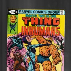 Fumetti: MARVEL TWO IN ONE 72 - 1981 VFN/NM / THING AND INHUMANS. Lote 239949945