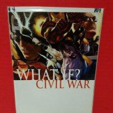 Cómics: MARVEL WHAT IF? CIVIL WAR #1 COMIC BOOK. Lote 240390635