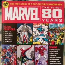 Cómics: MARVEL: THE FIRST 80 YEARS, TITAN, 2020. Lote 240404305