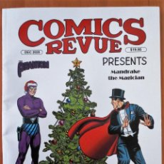 Cómics: COMICS REVUE CON FLASH GORDON HOMBRE ENMASCARADO MANDRAKE. Lote 240898365