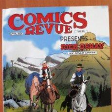 Cómics: COMICS REVUE CON FLASH GORDON HOMBRE ENMASCARADO MANDRAKE. Lote 240900990