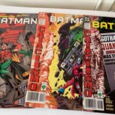 Cómics: 10 COMICS BATMAN CATACLISMO. Lote 241715490