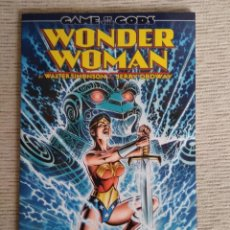 Cómics: WONDER WOMAN GAME OF GODS. DC. RÚSTICA. Lote 241902870