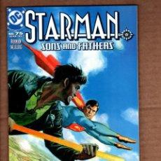Fumetti: STARMAN 75 - DC 2001 VFN/NM. Lote 243027815