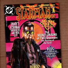Comics: STARMAN SECRET FILES AND ORIGINS - DC 1998 VFN/NM. Lote 243030190