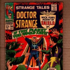 Comics: STRANGE TALES 160 - MARVEL 1967 VG- / SHIELD / DOCTOR STRANGE / STAN LEE / JIM STERANKO. Lote 243036675