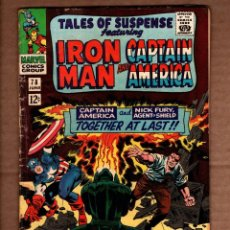 Comics: TALES OF SUSPENSE 78 - MARVEL 1966 FN- / IRON MAN / CAPTAIN AMERICA / STAN LEE / COLAN / JACK KIRBY. Lote 243038710