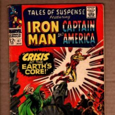 Comics: TALES OF SUSPENSE 87 - MARVEL 1967 VG- / IRON MAN / CAPTAIN AMERICA / STAN LEE / GENE COLAN. Lote 243039910
