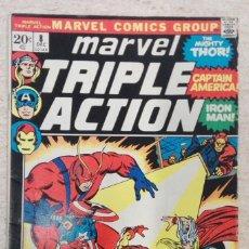 Fumetti: MARVEL TRIPLE ACTION #8. Lote 243191215