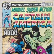 Fumetti: MARVEL SUPER ACTION #12. Lote 243272465
