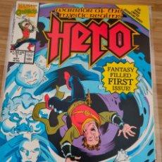 Cómics: WARRIORS OF THE MYSTIC REALMS 1 HERO MARVEL 1991. Lote 243925555