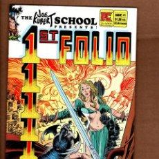 Cómics: 1ST FOLIO - PACIFIC 1984 FN/VFN / THE JOE KUBERT SCHOOL ( JOE, ANDY, ADAM...). Lote 244567010