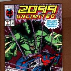 Cómics: 2099 UNLIMITED 1 - MARVEL 1993 VFN / SPIDER-MAN 2099 / 1ST HULK 2099. Lote 244570510
