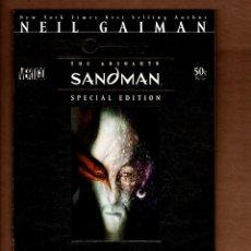 Cómics: SANDMAN SPECIAL EDITION 1 - DC VERTIGO 2006 VFN/NM / NEIL GAIMAN & SAM KIETH. Lote 244571190