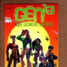 Cómics: GEN 13 : THE UNREAL WORLD - IMAGE 1996 VFN/NM. Lote 244653710